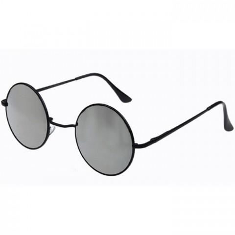 6c4a73b44 Lenonky - čierne - strieborné sklá - Slnečné Okuliare - HappyHairShop.sk