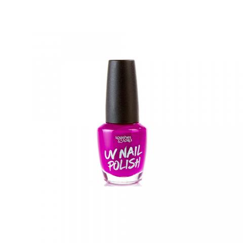 UV Lak na nechty Splashes & Spills - fialový