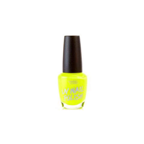 UV Körömlakk Splashes & Spills- sárga
