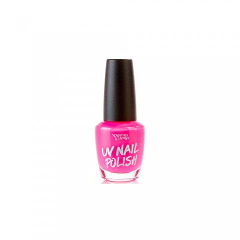 Splashes&Spills UV Lak na nehty Splashes & Spills- růžový 13ml