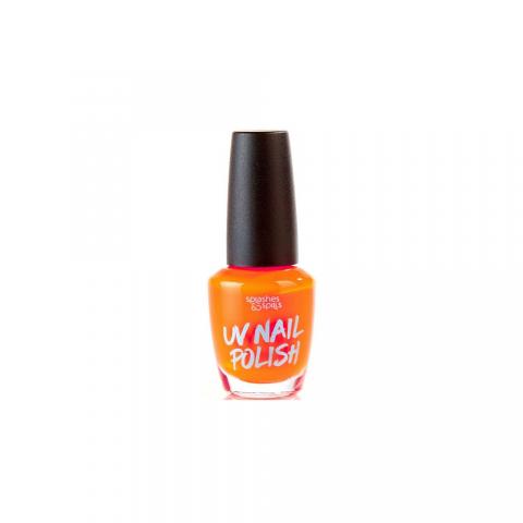 UV Körömlakk Splashes & Spills - narancssárga