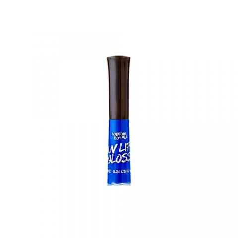 UV Lesk na pery Splashes & Spills - modrý