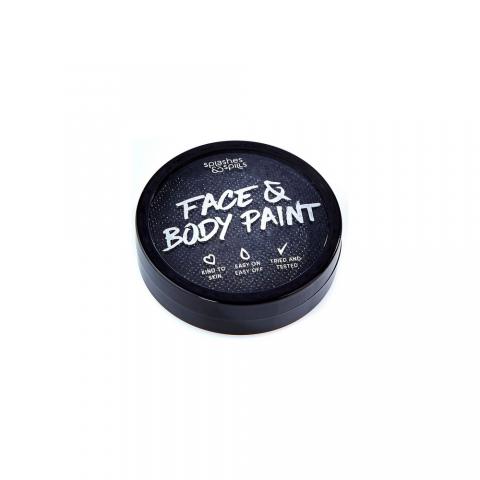 SFX farba na telo a tvár - čierna