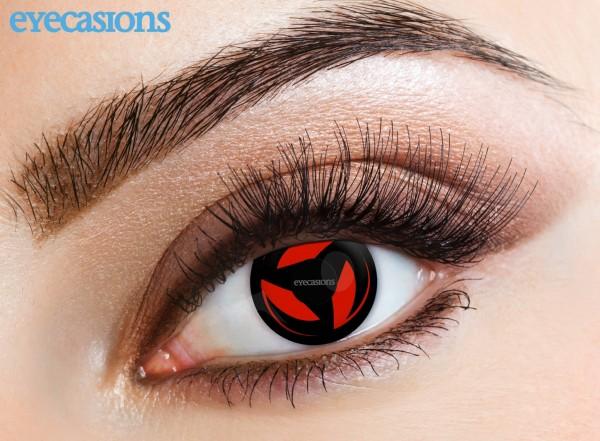 Eyecasions - Kakashi 2 čočky - crazy čočky