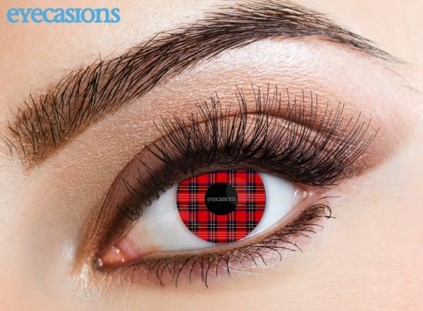Eyecasions - Tartan 2 čočky - crazy čočky