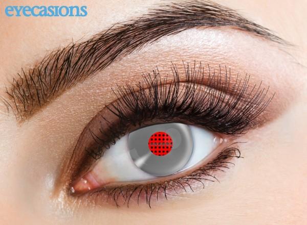 Eyecasions - Android Metallic 2 čočky - crazy čočky