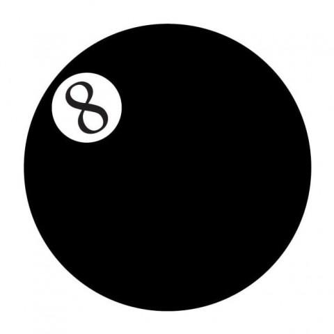 Eyecasions - 8 Ball 2 čočky - crazy čočky