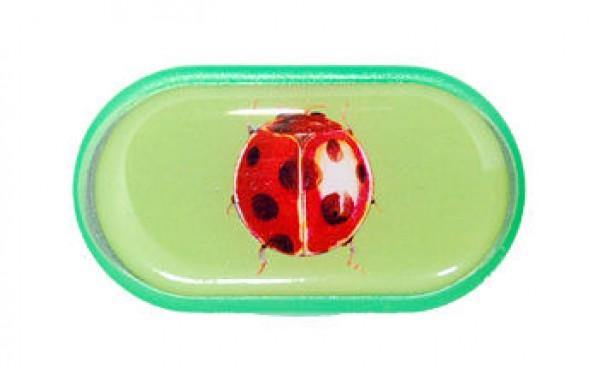 Dekoratív kontaktlencse tároló tok – Katicabogár