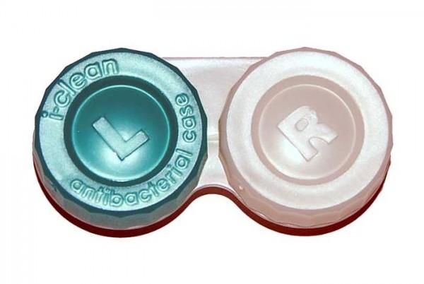 Antibakteriális kontaktlencse tároló tok - Zöld