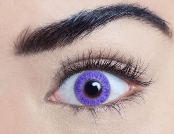 MesmerEyez - Pure Violet | roční 2 čočky - barevní čočky