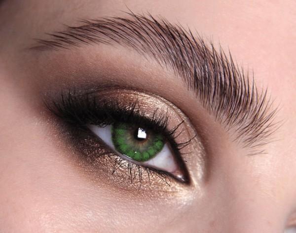 MesmerEyez - Regents Green | čtvrtletní 2 čočky - barevní čočky