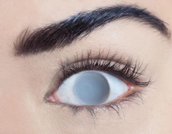 MesmerEyez - Blind Grey | jednodenní 2 čočky - crazy čočky