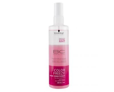 Schwarzkopf Professional Kondicionér pro zachování barvy ve spreji BC Color Freeze (Spray Conditioner) 200 ml