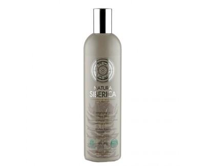 Natura Siberica Šampon pro unavené a oslabené vlasy - Ochrana a energie (Energising and Protective Shampoo) 400 ml