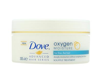 Dove Maska na jemné vlasy Advanced Hair Series (Oxygen Moisture Souffle Treatment) 200 ml