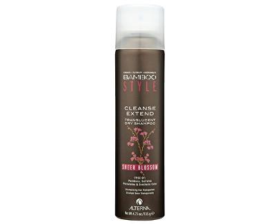 Alterna Suchý šampon na vlasy s vůní květin Bamboo Style (Cleanse Extend Translucent Dry Shampoo - Sheer Blossom) 150 ml