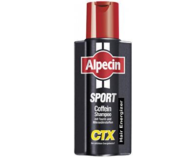 Alpecin Kofeinový šampon proti vypadávání vlasů Sport CTX (Energizer Kofein Shampoo) 250 ml