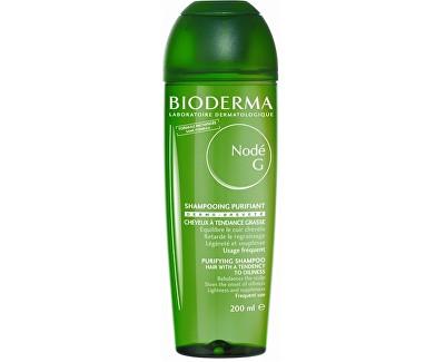 Bioderma Šampon pro mastné vlasy Nodé G (Purifying Shampoo) 400 ml