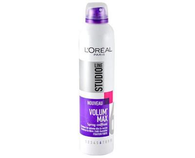 Loreal Paris Lak na vlasy pro objem Studio Line (Volum Max Spray) 300 ml