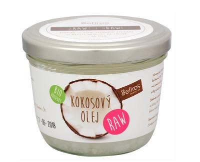Sefiros BIO RAW Kokosový olej 180 ml