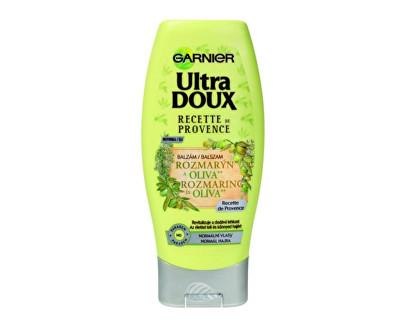 Garnier Balzám na vlasy s rozmarýnem a olivou pro normální vlasy Ultra Doux (Rosemary & Olive Conditioner) 200 ml