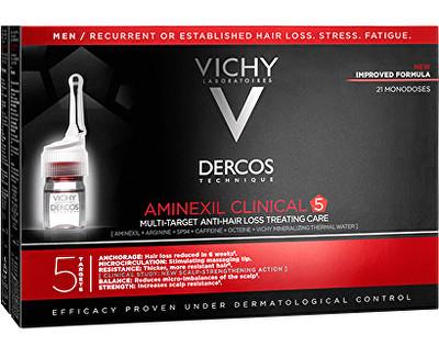 Vichy Multiúčelová kúra proti vypadávání vlasů pro muže Dercos Aminexil Clinical 5 21 x 6ml