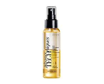 AVON Intenzivní vyživující duální sprej s luxusními oleji pro všechny typy vlasů Advance Techniques (Duo Treatment Spray) 100 ml