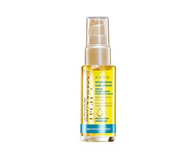 AVON Vyživující sérum na vlasy s marockým arganovým olejem Advanced Techniques (Nourishing hair Serum) 30 ml