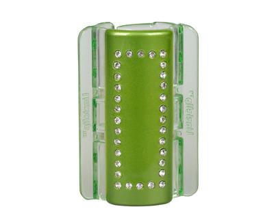 Velký skřipec MAXI - zelený s krystalky