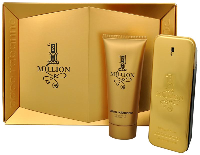 PACO RABANNE 1 Million - EDT 100 ml + sprchový gel 100 ml
