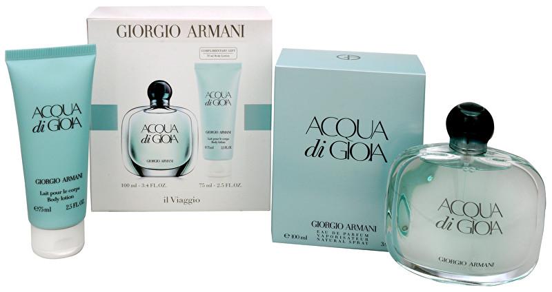 ARMANI Acqua Di Gioia - EDP 100 ml + tělové mléko 75 ml