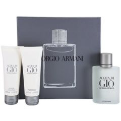 ARMANI Acqua Di Gio Pour Homme - EDT 100 ml + sprchový gel 75 ml + balzám po holení 75 ml