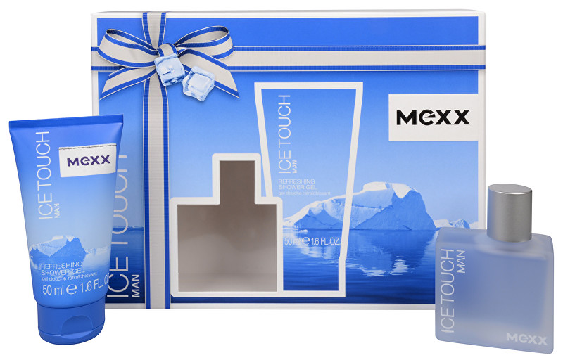 MEXX Ice Touch Man - EDT 30 ml + sprchový gel 50 ml