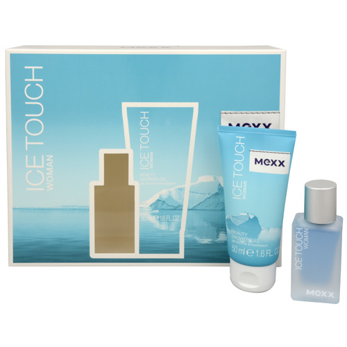 MEXX Ice Touch Woman - EDT 15 ml + sprchový gel 50 ml