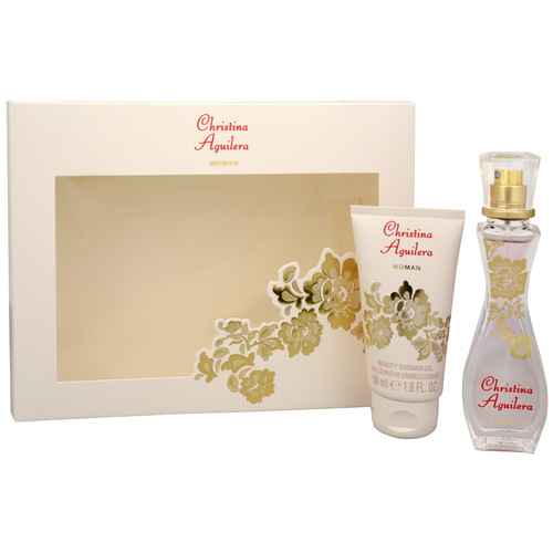 CHRISTINA AGUILERA Woman - EDP 30 ml + sprchový gel 50 ml