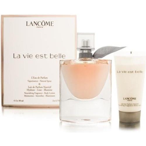 LANCOME La Vie Est Belle - EDP 50 ml + tělové mléko 50 ml
