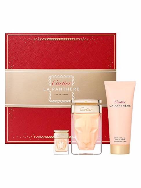 CARTIER La Panthere - EDP 75 ml + EDP 6 ml + tělové mléko 100 ml