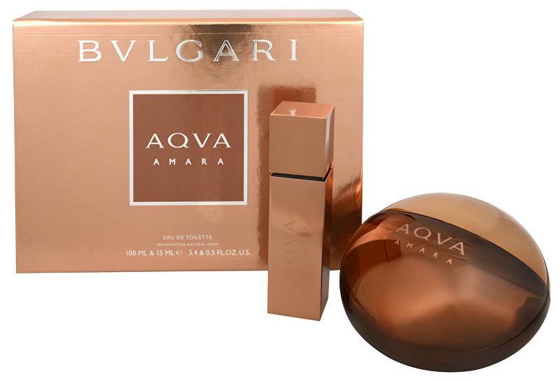 BVLGARI Aqva Amara Pour Homme - EDT 100 ml + EDT 15 ml