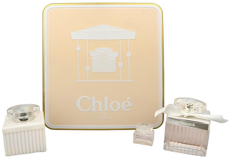 CHLOE Chloé - EDT 75 ml + tělové mléko 100 ml + miniatura 5 ml
