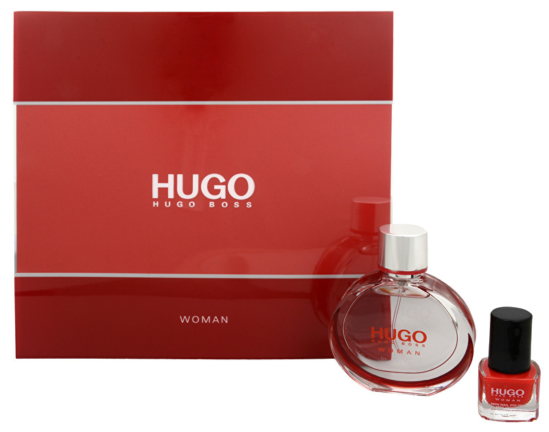 HUGO BOSS Hugo Woman Eau de Parfum - EDP 30 ml + lak na nehty