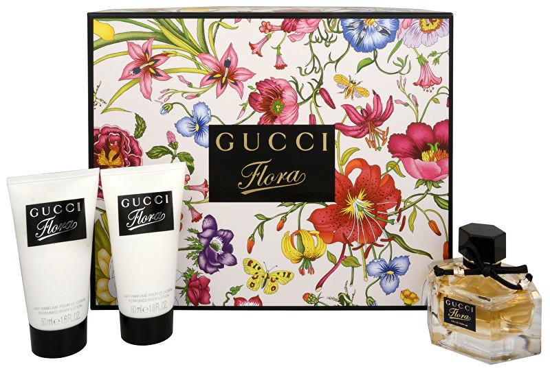 GUCCI Flora By Gucci - EDP 50 ml + tělové mléko 2 x 50 ml