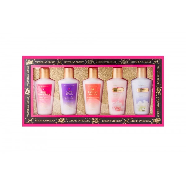 VICTORIA´S SECRET Kolekce tělových mlék značky Victoria´s Secret 5 x 60 ml