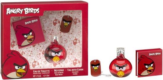 EP Line Angry Birds Red Bird - EDT 50 ml + poznámkový bloček + přívěšek