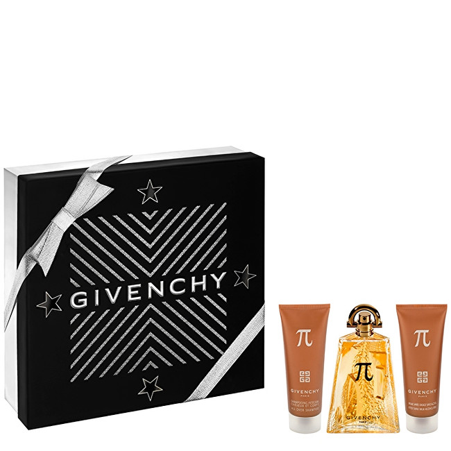 GIVENCHY Pí - EDT 100 ml + sprchový gel 75 ml + balzám po holení 75 ml