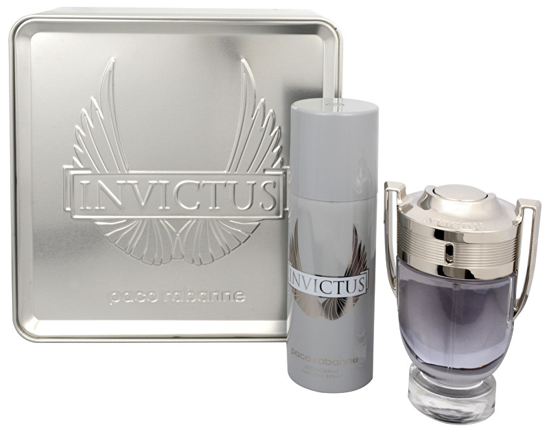 PACO RABANNE Invictus - EDT 100 ml + deodorant ve spreji 150 ml