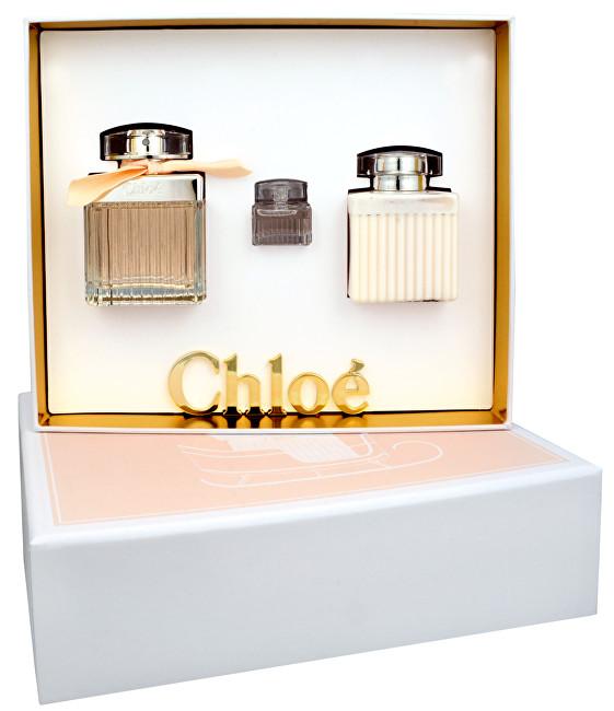 CHLOE Chloé Fleur de Parfum - EDP 75 ml + tělové mléko 100 ml + EDP 7,5 ml