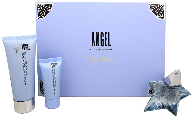 THIERRY MUGLER Angel - EDP (plnitelná) 25 ml + tělové mléko 100 ml + sprchový gel 30 ml