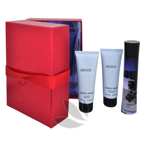 ARMANI Code For Women - EDP 50 ml + sprchový gel 75 ml + tělové mléko 75 ml