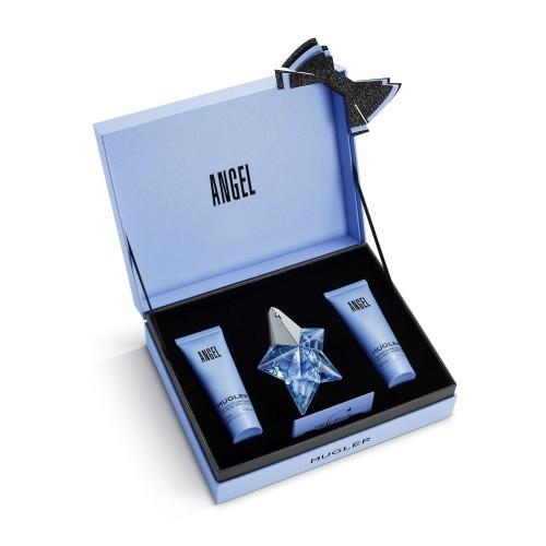 THIERRY MUGLER Angel - EDP 25 ml (plnitelná) + tělové mléko 50 ml + sprchový gel 50 ml