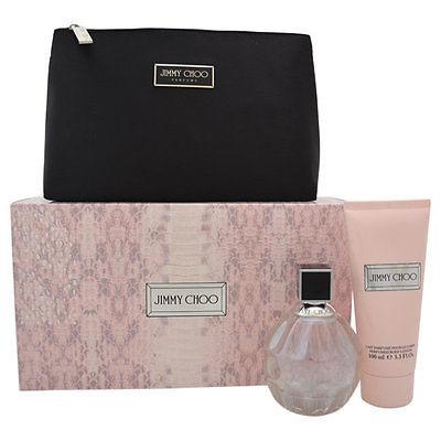 JIMMY CHOO Jimmy Choo - EDT 100 ml + tělové mléko 100 ml + kosmetická taška